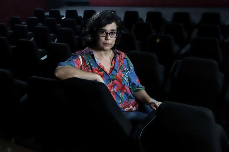 A organizadora do livro e pesquisadora Cyntia Nogueira    Ag. A TARDE