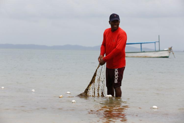 Aurelino: ligação com o mar por meio da pesca