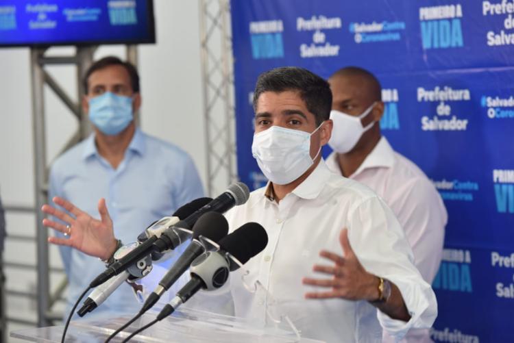 Presidente do DEM afirmou que partido só tomará medidas após a equipe jurídica analisar o inquérito - Foto: Divulgação / ASCOM