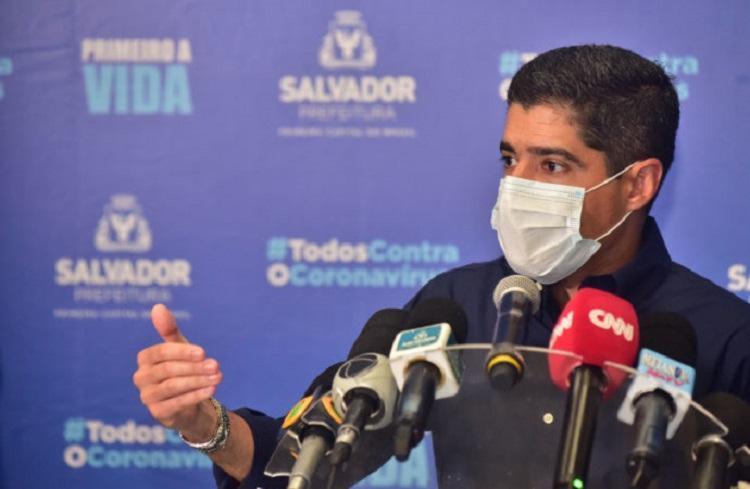 Nas redes sociais, internautas criticaram a realização do evento em meio à pandemia - Foto: Divulgação/SECOM