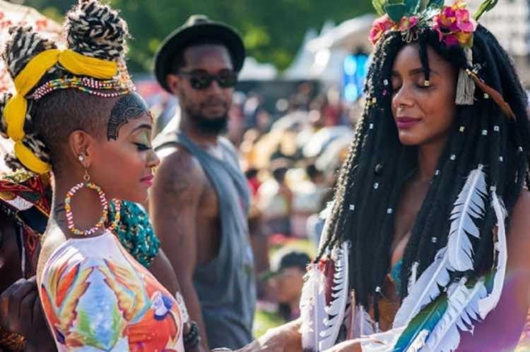 Festival de cultura negra ganhou destaque mundial pelas expressões da cultura negra na música e na moda | Foto: Reprodução | Instagram