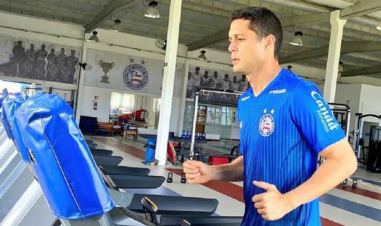 Zagueiro está liberado para encarar o Sport no domingo, em Pituaçu, pela 13ª rodada da Série A   Foto: Divulgação   E.C. Bahia - Foto: Foto: Divulgação   E.C. Bahia