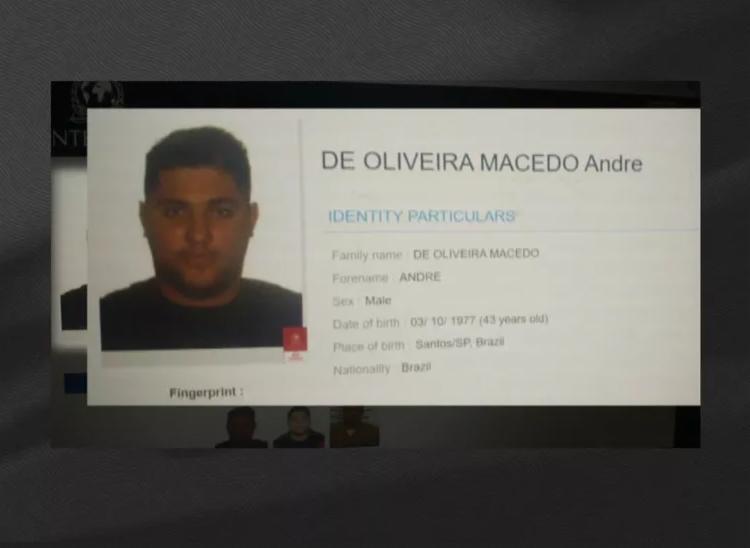 TRAFICANTE LIBERADO POR MARCO AURÉLIO NA LISTA DE PROCURADO DA INTERPOL
