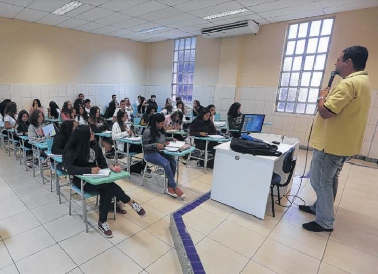 As atividades presenciais estão suspensas em instituições de ensino baianas de todos os níveis desde março   Foto: Rafael Martins   Ag. A TARDE - Foto: Rafael Martins   Ag. A TARDE