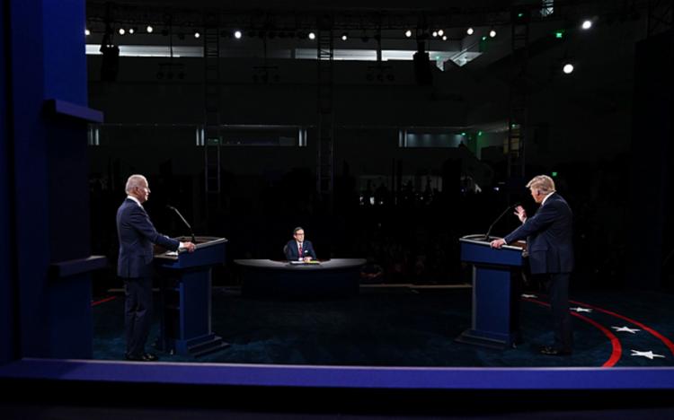 Candidatos tentam votos em estados chaves para eleições nos EUA   Foto: Oliver Douliery   AFP - Foto: Oliver Douliery   AFP