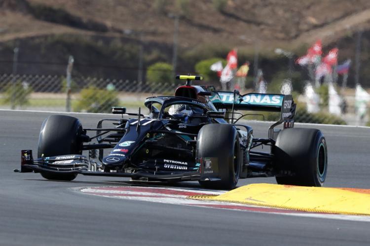 O piloto finlandês marcou a melhor volta em 1min17s940 no circuito de Algarve | Foto: Armando Franca | AFP - Foto: Armando Franca | AFP