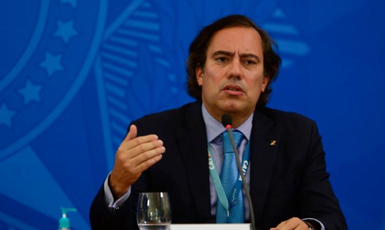 Para Pedro Guimarães, banco vai oferecer micro-crédito a esse público | Foto: Marcello Casal Jr. | Agência Brasil - Foto: Marcello Casal Jr. | Agência Brasil