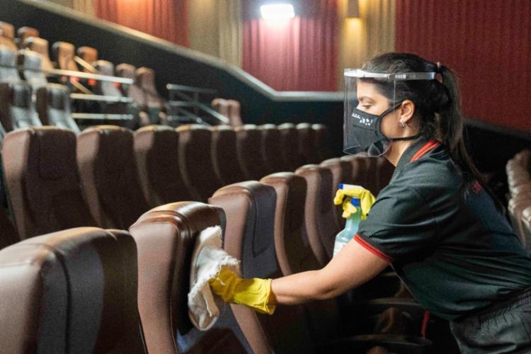Cinema reabre com reforço nos protocolos sanitários   Foto: Divulgação - Foto: Divulgação