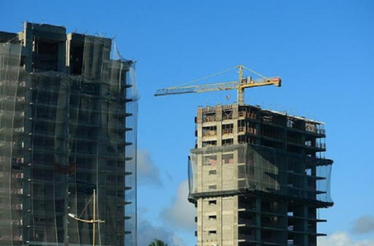 Setor da construção civil gerou 1.060 postos formais - Foto: Joá Souza | Ag A TARDE