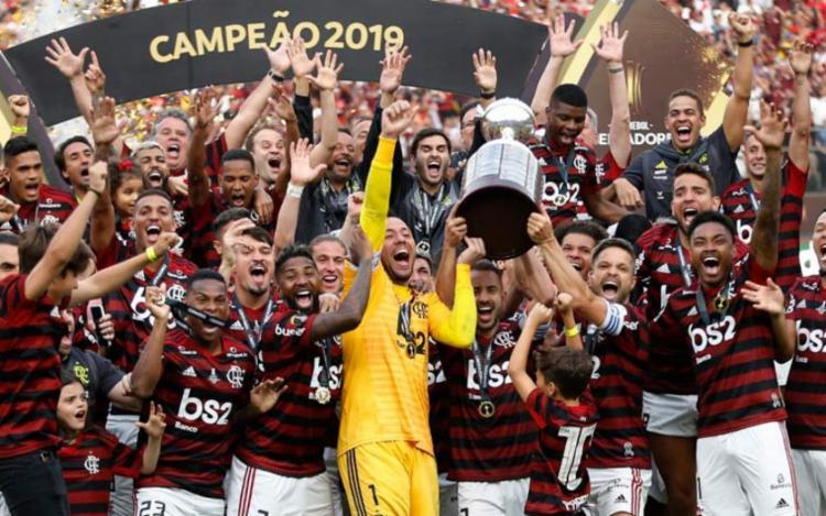 Atual campeão, o Flamengo terá pela frente o Racing-ARG | Foto: Luka Gonzales | AFP - Foto: Luka Gonzales | AFP