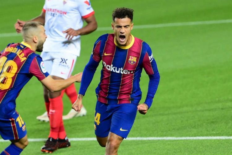 Coutinho esteve em campo no sábado na derrota do Barcelona para o Real Madrid, por 3 a 1, pelo Campeonato Espanhol | Foto: Lluis Gene | AFP - Foto: Lluis Gene | AFP