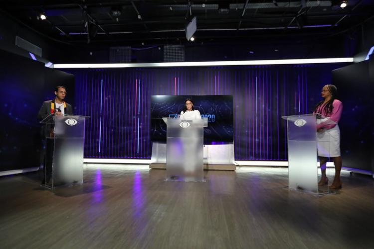 Até o momento, o único debate entre os prefeituráveis de Salvador foi realizado pela Band - Foto: Divulgação
