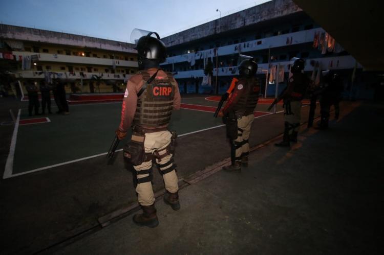 Quatro detentos que ordenavam homicídios em Salvador e nas cidades de Irecê e Morro do Chapéu | Foto: Divulgação | SSP-BA - Foto: Divulgação | SSP-BA