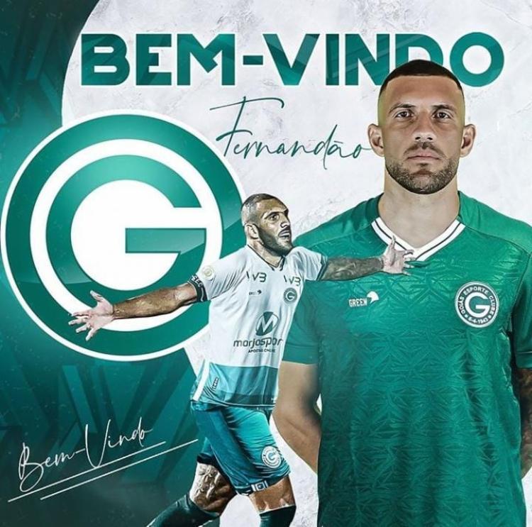 Atacante foi anunciado pelo Goiás   Foto: Reprodução   Instagram - Foto: Reprodução   Instagram