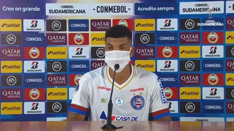 Zagueiro espera reverter resultado em casa | Foto: Conmenbol - Foto: Conmenbol