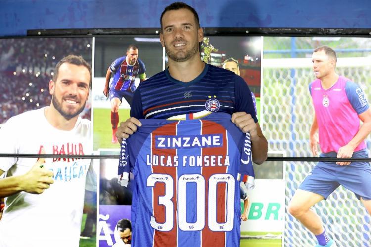 Zagueiro completará 300 jogos pelo Bahia | Foto: Felipe Oliveira | E.C.Bahia - Foto: Felipe Oliveira | E.C.Bahia