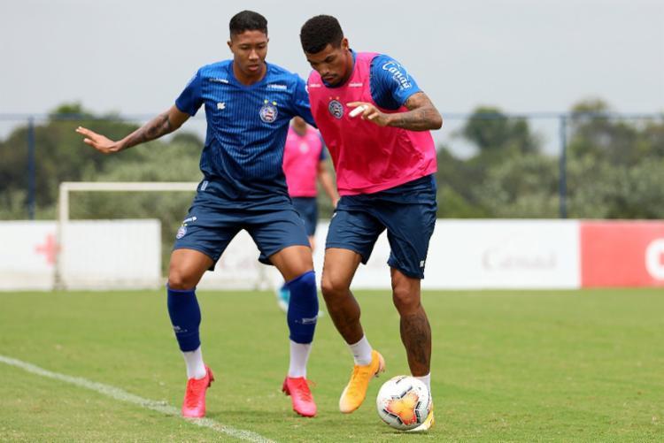 Mano chegou a promover algumas mudanças e tentar novos jogadores entre os titulares   Foto: Felipe Oliveira   EC Bahia - Foto: Felipe Oliveira   EC Bahia