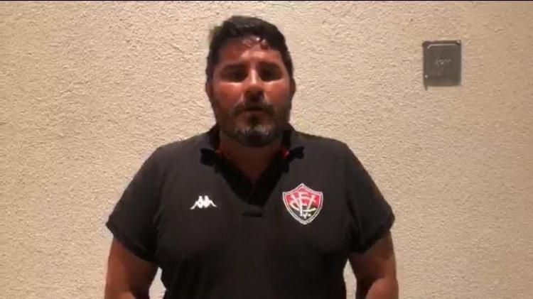 Treinador voltou a ressaltar a necessidade de reforços   Foto: Reprodução   E.C.Vitória - Foto: Reprodução   E.C.Vitória