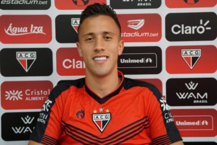 O volante estava atuando pelo Atlético-GO na atual temporada | Foto: Paulo Marcos | Atlético GO - Foto: Paulo Marcos | Atlético GO
