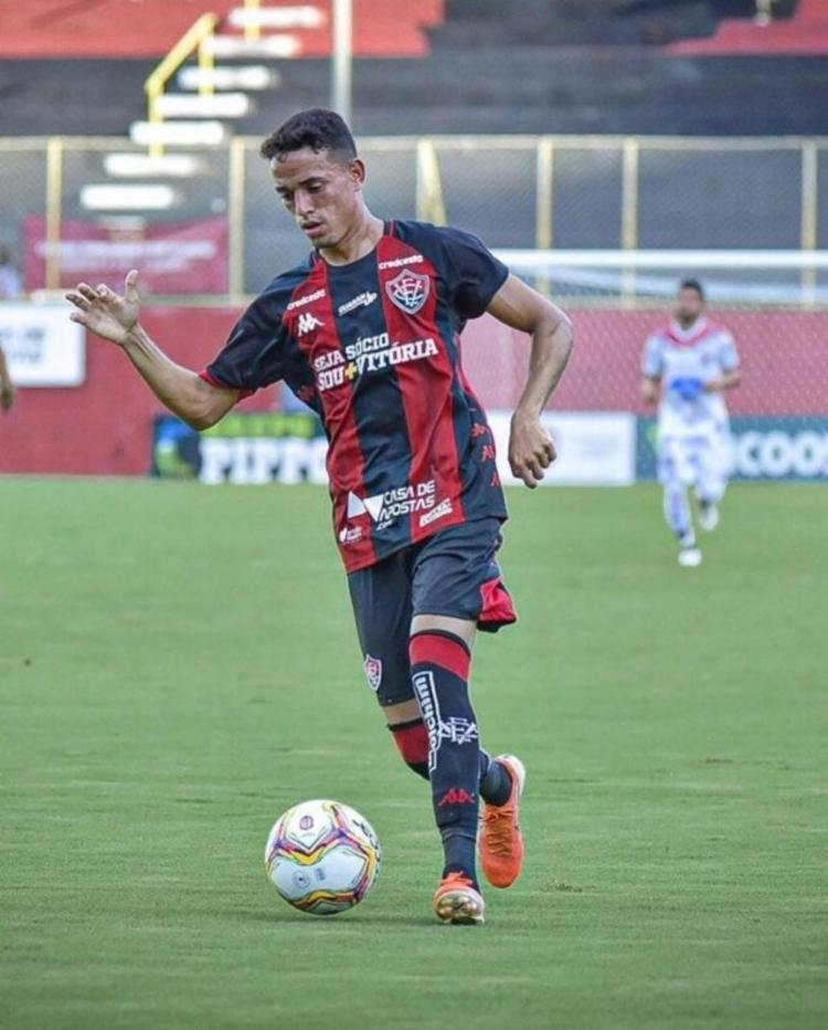 Levi atuou por apenas três jogos pelo Vitória   Foto: Letícia Martins   E.C.Vitória - Foto: Letícia Martins   E.C.Vitória