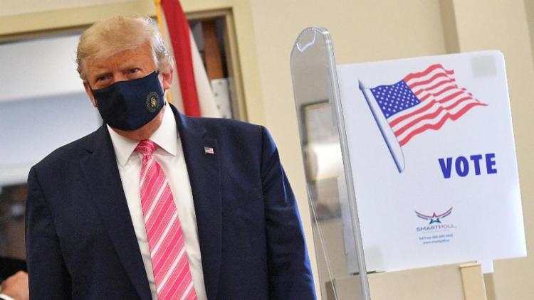 Quase 55 milhões de americanos já emitiram seu voto antecipado | Foto: Manoel Ngan | AFP - Foto: Manoel Ngan | AFP
