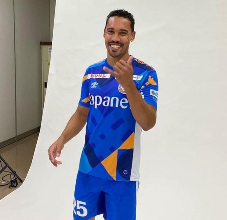 Jogador será atleta do V-Varen Nagasaki | Foto: Divulgação | V-Varen Nagasaki - Foto: Divulgação | V-Varen Nagasaki