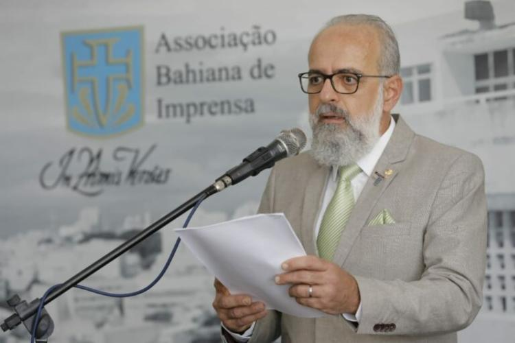 Presidente da ABI, Ernesto Marques, quer resgatar tradição da entidade de realizar debates - Foto: Divulgação