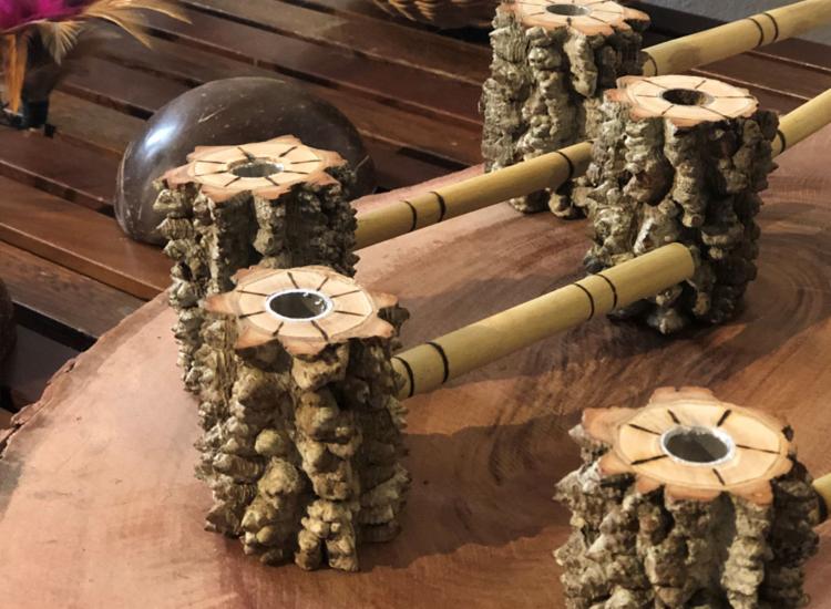Feira vai receber alguns indígenas Kiriris e seus artesanatos   Foto: Divulgação - Foto: Divulgação