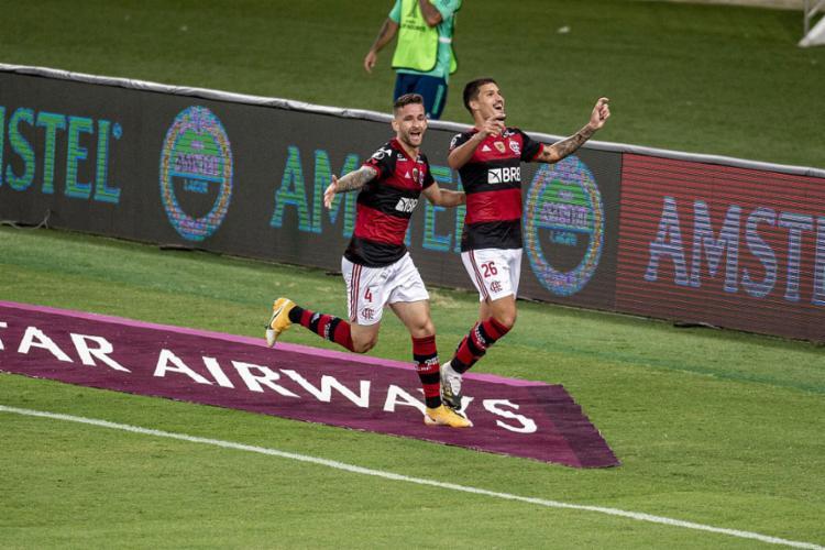Resultado garantiu 1ª posição do Rubro-Negro no grupo A | Foto: Maarcelo Cortes | Flamengo - Foto: Maarcelo Cortes | Flamengo