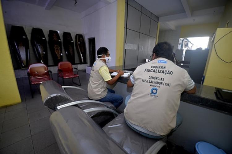 Foram 18 estabelecimentos visitados no início da operação | Foto: Jefferson Peixoto | Secom - Foto: Jefferson Peixoto | Secom