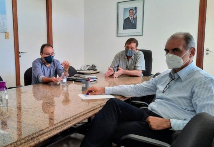 A ação foi discutida na sede da Secretaria do Planejamento (Seplan)   Foto: Divulgação   Seplan - Foto: Foto: Divulgação   Seplan
