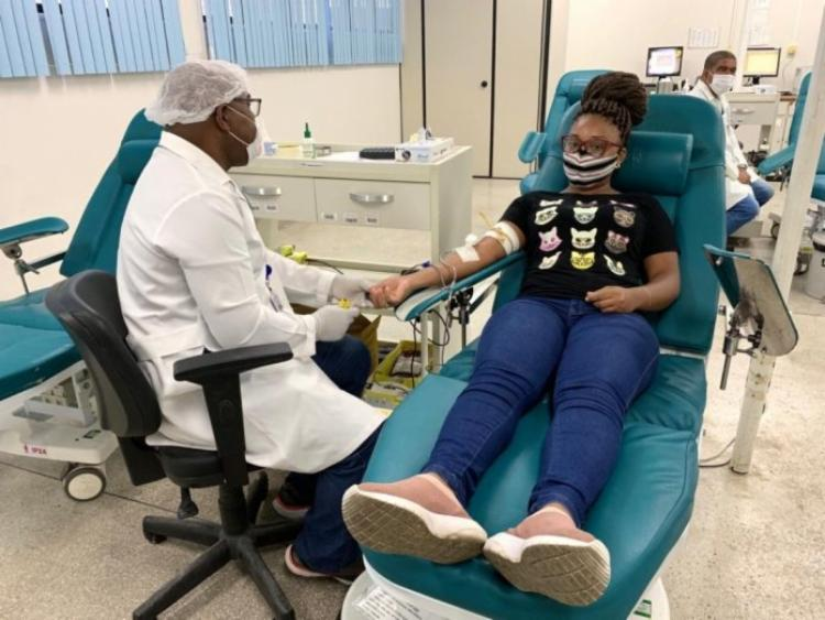 Para doar sangue, o voluntário deve estar em boas condições de saúde   Foto: Divulgação - Foto: Foto: Divulgação