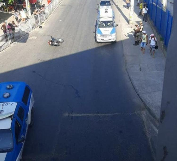 Dupla foi surpreendida durante uma tentativa de assalto | Foto: Cidadão Repórter - Foto: Cidadão Repórter