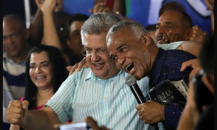 Isidório e Bacelar, canddidatos a prefeito de Salvador que são da base do governador Rui Costa - Foto: Divulgação