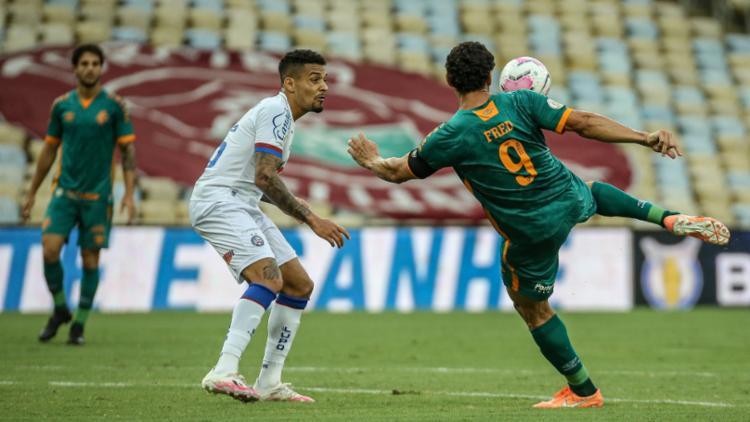 Tropeço manteve o Esquadrão com 15 pontos, ainda bem ameaçado pela zona de rebaixamento - Foto: Lucas Merçon/Fluminense Football Club