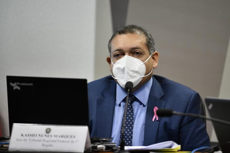 Desempenho de Kassio Marques em sabatina foi elogiado por senadores baianos - Foto: Divulgação