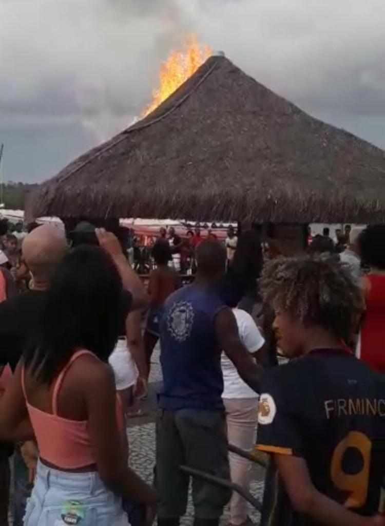 Evento ficou marcado por incêndio em cais | Foto: Cidadão Repórter - Foto: Cidadão Repórter