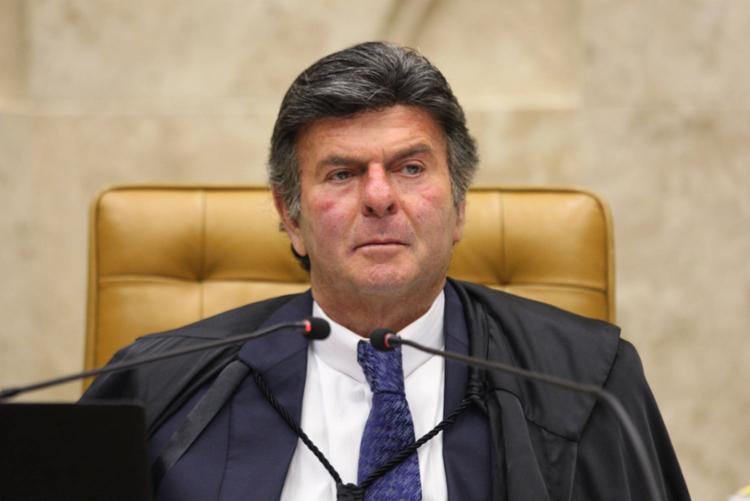 Ministro Luiz Fux já apresentou voto em que defende a manutenção da decisão dele que derrubou uma liminar do colega Marco Aurélio e restabeleceu a ordem de prisão do traficante - Foto: Divulgação