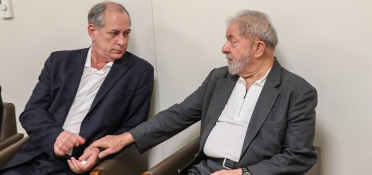 Ciro e Lula chegaram a se encontrar em outubro desde ano para dialogar sobre movimentos futuros - Foto: Ricardo Stuckert / Instituto Lula
