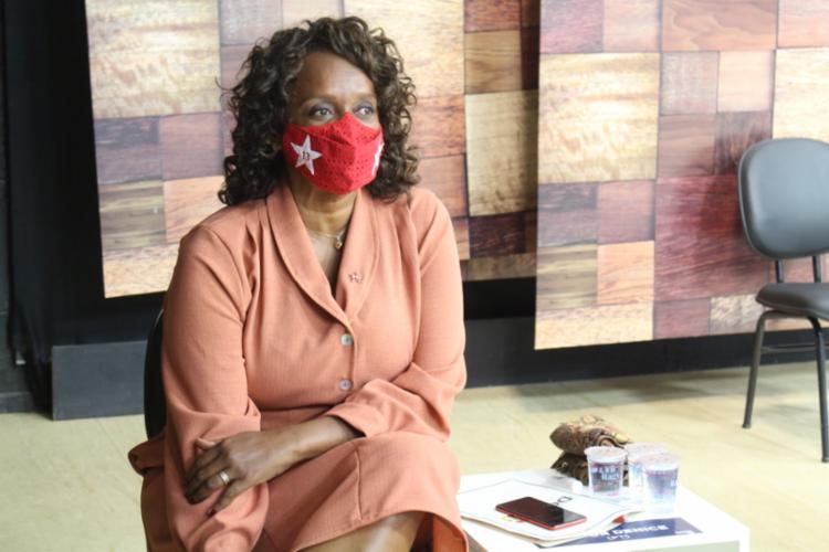 Major Denice, candidata do PT, afirmou que pesquisas eleitorais devem ser divulgadas - Foto: Ascom | IRDEB