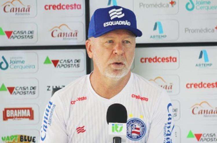 Mano acredita em evolução da equipe | Foto: Felipe Oliveira | E.C.Bahia - Foto: Felipe Oliveira | E.C.Bahia