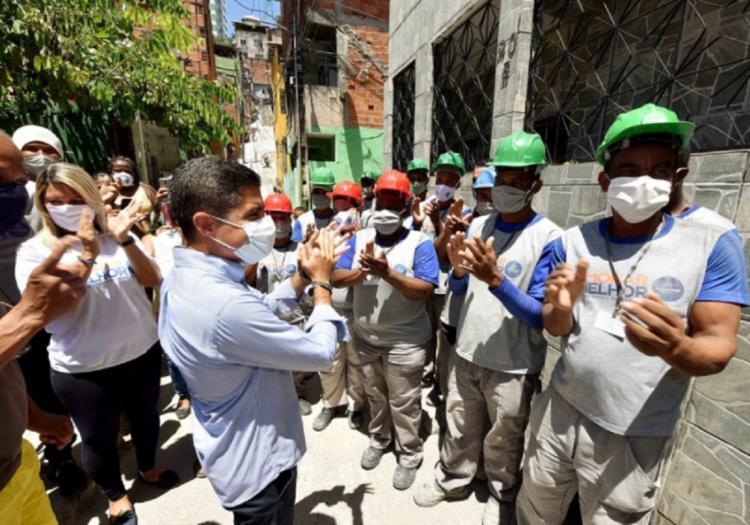 ACM Neto lembrou que a criação do programa foi a partir da demanda da própria população | Foto: Divulgação - Foto: Divulgação