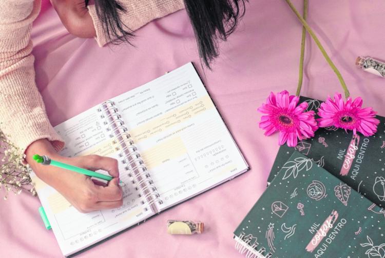 Registros do cotidiano, inspiração e planejamento | Foto: Jade Lacerda | Divulgação - Foto: Jade Lacerda | Divulgação