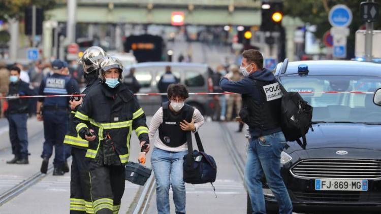 Ataque deixou três pessoas mortas, entre elas uma baiana   Foto: Valery Hache   AFP - Foto: Valery Hache   AFP