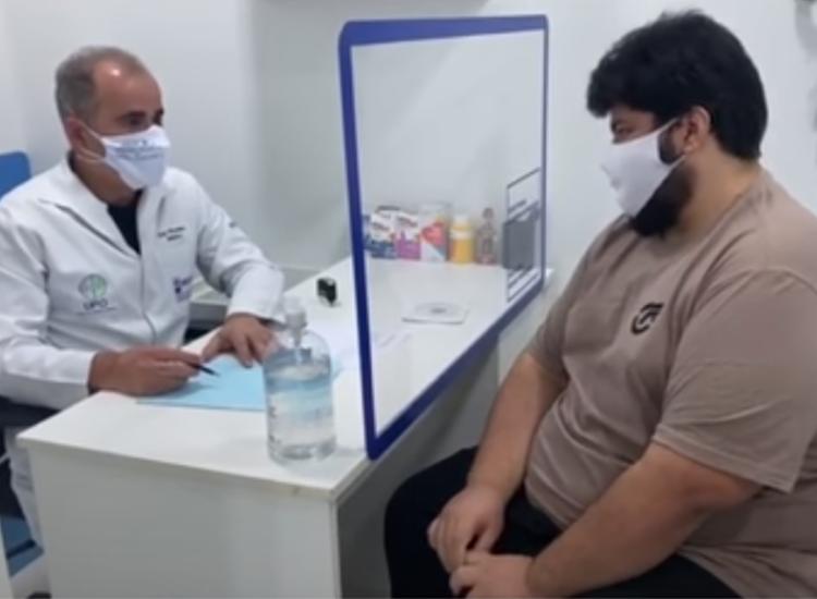 João Rafael conseguiu perder 100 kilos mudando seus hábitos alimentares e se exercitando - Foto: Divulgação