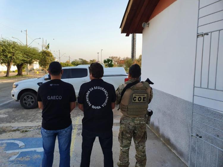 Operação Alcateia cumpre mandados no Sertão da Bahia   Foto: Divulgação   MP-BA - Foto: Divulgação   MP-BA