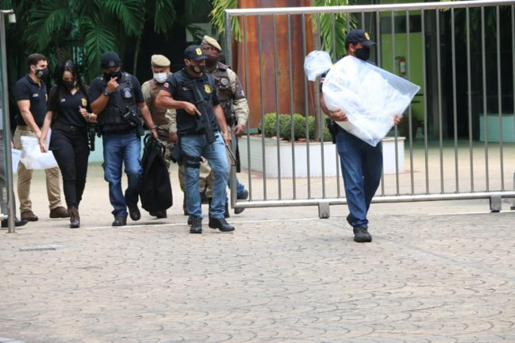 Grupo atuava em esquema focado em evasão de receita e sonegação fiscal - Foto: Fotos: Alberto Maraux