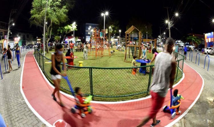 Inauguração foi feita pelo prefeito ACM Neto nesta quarta-feira, 30   Foto: Valter Pontes   Secom - Foto: Valter Pontes   Secom