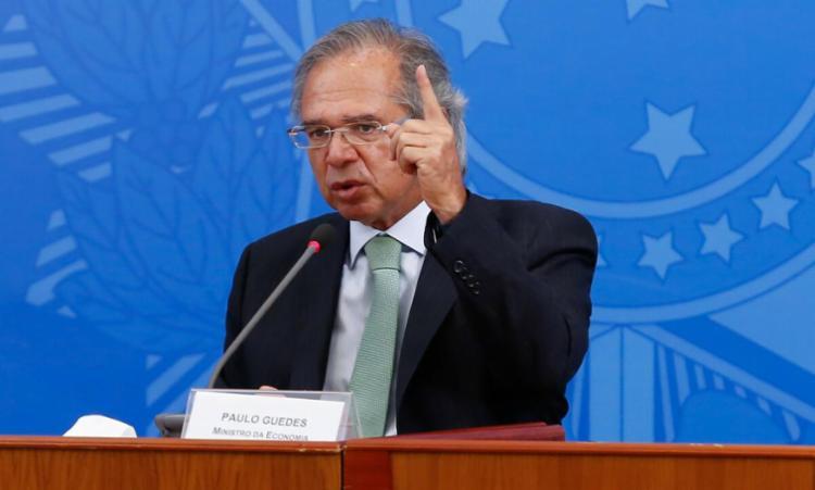 Relatório analisou postagens sobre o Ministério da Economia e Paulo Guedes | Foto: Divulgação - Foto: Divulgação