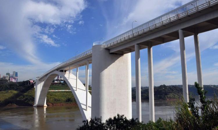 É conhecida como Ponte da Amizade | Foto: Dnit | Divulgação - Foto: Foto: Dnit | Divulgação